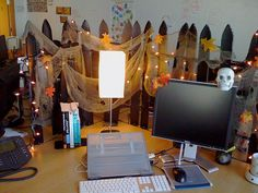 halloween desk work charming desk decorating ideas work halloween