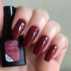 Miss Behave - love the color, but don't like the nails.