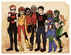 Young Justice: Friendship Forever.