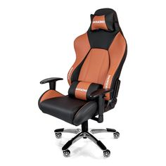 Black brown high quality gaming chair