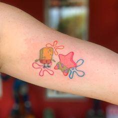 Untitled December 12 2019 at Wandtattoo Bff Tattoos, Mini Tattoos, Kritzelei Tattoo, Cute Tiny Tattoos, Doodle Tattoo, Cartoon Tattoos, Funny Tattoos, Little Tattoos, Pretty Tattoos