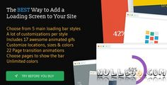 The Loading Bar WordPress Plugin v1.6  CodeCanyon
