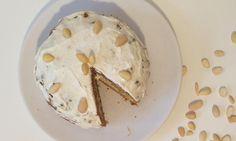 Fitness cheesecake z ovesných vloček Carrot Cake, Feta, Carrots, Ice Cream, Cheese, Sweet, Fitness, No Churn Ice Cream, Candy