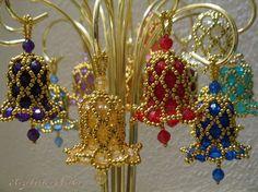 Making bead bells.. :)