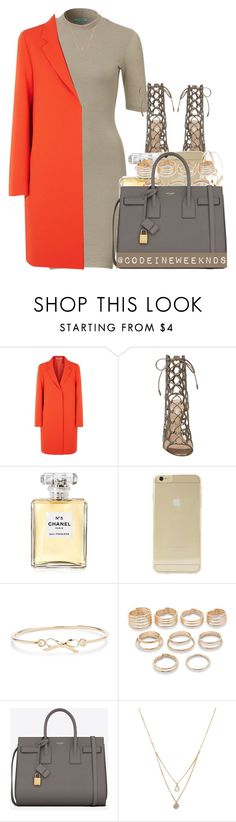 """""""1/9/16"""" by codeineweeknds ❤ liked on Polyvore featuring McQ by Alexander McQueen, Gianvito Rossi, Chanel, Sonix, Sole Society, Forever 21, Yves Saint Laurent, women's clothing, women and female"""
