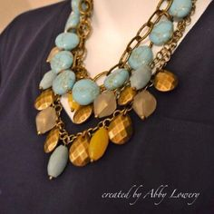 create your own bib/collar necklace. (Premier Designs)
