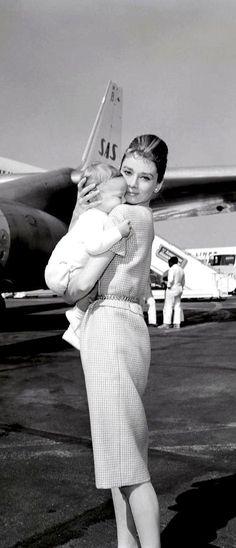 Audrey & Eldest Son.