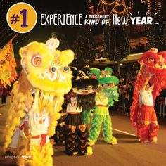 Asia Top Tip 1: Experience a different kind of New Year at China's colourful New Year celebrations!