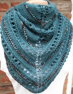DIY Shimmering Seas Shawl pattern on Craftsy.com