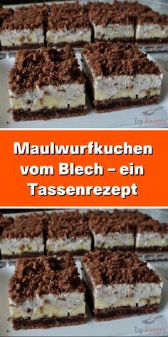 Cake Recipes Easy Chocolate Baking - New ideas Quick Dessert Recipes, Potluck Desserts, Easy Cookie Recipes, Baking Recipes, Brownie Recipes, Cake Recipes, Chocolate Mousse Recipe, Chocolate Cake Recipe Easy, Recipes