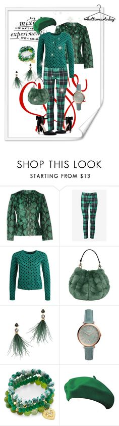 """For the Bold & Beautiful!"" by su-ka74 ❤ liked on Polyvore featuring Kate Spade, Liviana Conti, French Connection, Lizzie Fortunato, FOSSIL and Good Charma"