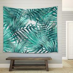 Exotic Palm Trees Hanging tapestry