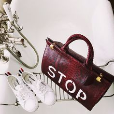 Anya Hindmarch AW15 bag, Superga by Look de Pernille sneakers