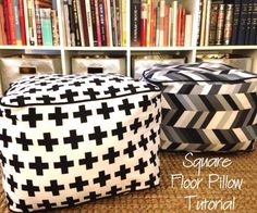 39 best diy ottomans floor pillows and poufs images on pinterest our weekly newsletter find this pin and more on diy ottomans solutioingenieria Images