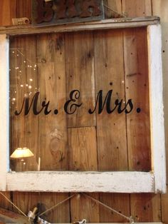 Mr and Mrs frame. MadeByFirstFriday KC