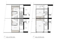 HOUSE House plan by Andrew Maynard Architects. Via Lunchbox Architect
