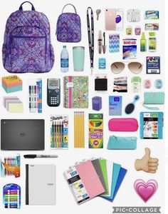 back to school essentials Perfect For Back To School (plz give credit) Perfect For Back To School (plz give credit) The post Perfect For Back To School (plz give credit) appeared first on School Diy. School Supplies Tumblr, Back To School Supplies For Teens, School Supplies Highschool, Cool School Supplies, School Emergency Kit, School Kit, School Ideas, Middle School Hacks, Life Hacks For School