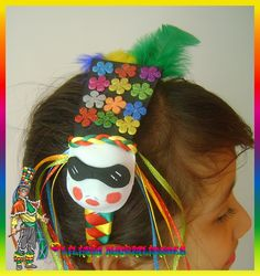 Liliana Manualidades: Acesorios de carnaval de barranquilla Rehearsal Dinners, Carnival, Hats, Blog, Liliana, Chic, Craft, Costumes, Hair Combs