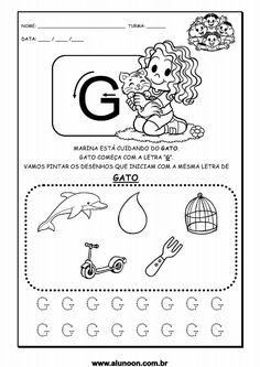 Resultado de imagem para atividades letra g educação infantil