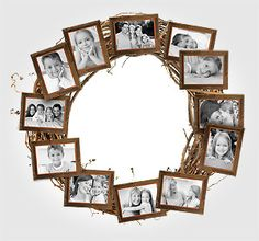 Kodak Moments:  - Create a photo wreath for year-round décor that everyone will love.