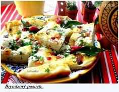 Rýchly chutný slaný posúch Lasagna, Potato Salad, Food And Drink, Pizza, Potatoes, Ethnic Recipes, Basket, Potato, Lasagne