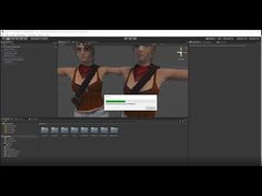 Tutorial - Mesh Baker to combine iClone characters in Unity - YouTube