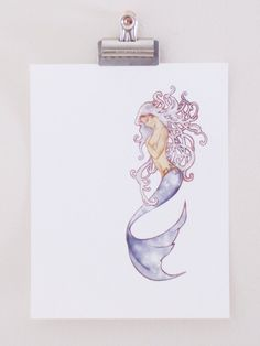 art nouveau mermaid Would make a cool tattoo