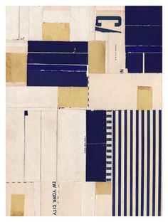 Lisa Hochstein collage of navy blues Fabric Paper, Paper Art, Paper Collage Art, Soul Artists, Abstract Paper, Collage Techniques, Architecture Collage, Collage Art Mixed Media, Collage Artists