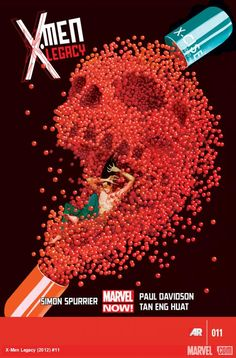 X-Men Legacy #11 cover by Mike Del Mundo. Check out the best covers of May 2013.