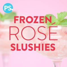 Rosé slushies are popping up all over the place, from Starbucks Wine Fragginos to Bon Appétit's Frosé, and it's understandable why so many are smitten. Here's a sweet strawberry twist that you're going to love!