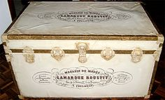 Vintage Missionary Trunk - Reader Featured Project - The Graphics Fairy