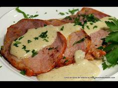 Lomo de cerdo en salsa de cebolla   Cocina