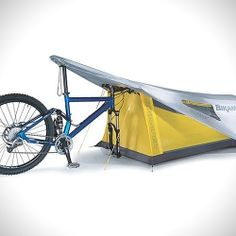 The ultimate one person tent utilizes your mountain versus tent poles to set up.