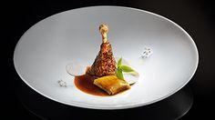 alex atala: guinea fowl with herb ravioli