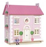 Le Toy Van Pink Bay Tree Doll House
