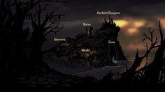 Darkest Dungeon, Dungeon Maps, Wilderness, Fantasy, Movies, Movie Posters, Art, Google Search, Art Background