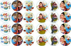 giggle and hoot cake toppers 2nd Birthday Parties, Birthday Ideas, Baby Corner, 1 Year Olds, Old Boys, Cute Food, Oscars, First Birthdays, Cake Toppers