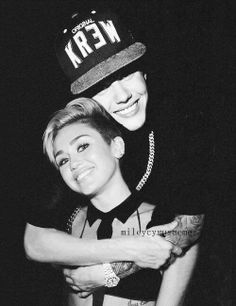 Justin Bieber ♥ and Miley Cyrus ♥