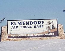 Elmendorf AFB is a well-known Air Force installation in Alaska. The Elmendorf base guide has information for service members and families. Military Careers, Military Service, Military Life, Air Force Day, Air Force Blue, Alaska The Last Frontier, North To Alaska, Old Fort, Vietnam Veterans