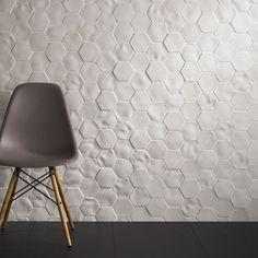 Indoor tile / wall-mounted / porcelain / textured ABSOLUTE : SELENE JOHNSON TILES
