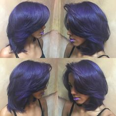 midnight purple hair - Google Search