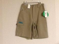 Girl Scouts Shorts Juniors Khaki Small Medium X-Large Uniform New!  #GirlScouts #Shorts