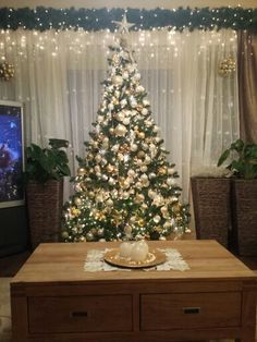 White & gold Christmas