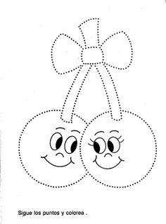 Maestra de Infantil: Grafomotricidad para 3 años Grade R Worksheets, Preschool Worksheets, Tracing Worksheets, Preschool Activities, Preschool Writing, Writing Activities, Working With Children, Pre School, Motor Activities