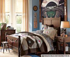 Baseball Room Ideas & Baseball Bedroom Ideas | PBteen