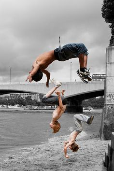 Back flips make the best pictures....