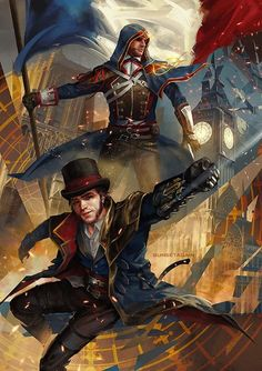 Take a look at this stunning piece of art of Jacob and Arno by SunsetAgain on Tumblr. http://sunsetagain.tumblr.com/post/163164918095/for-a-friend-mathieu Get Assassin's Creed - Identity TODAY on Google Play at http://ubi.li/5dey5 and the App Store at htt