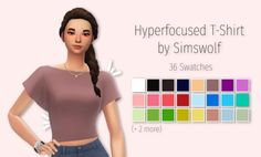 Hyperfocused T-Shirt by Simswolf