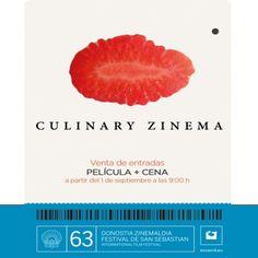 """V Edición de """"Culinary Zinema: Cine y Gatronomía"""": """"Culinary Zinema: Zinema eta Gastronomia""""-ren V. Edizioa:"""