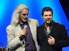 Guy Penrod and Jason Crabb from their tour